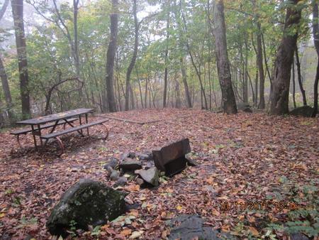 Loft Mountain Campground - Site 14