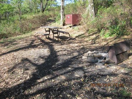 Loft Mountain Campground - Site 27
