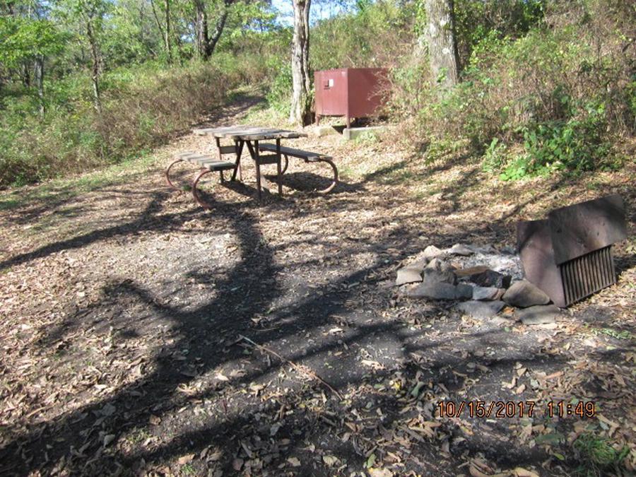 Loft Mountain Campground - Site 27