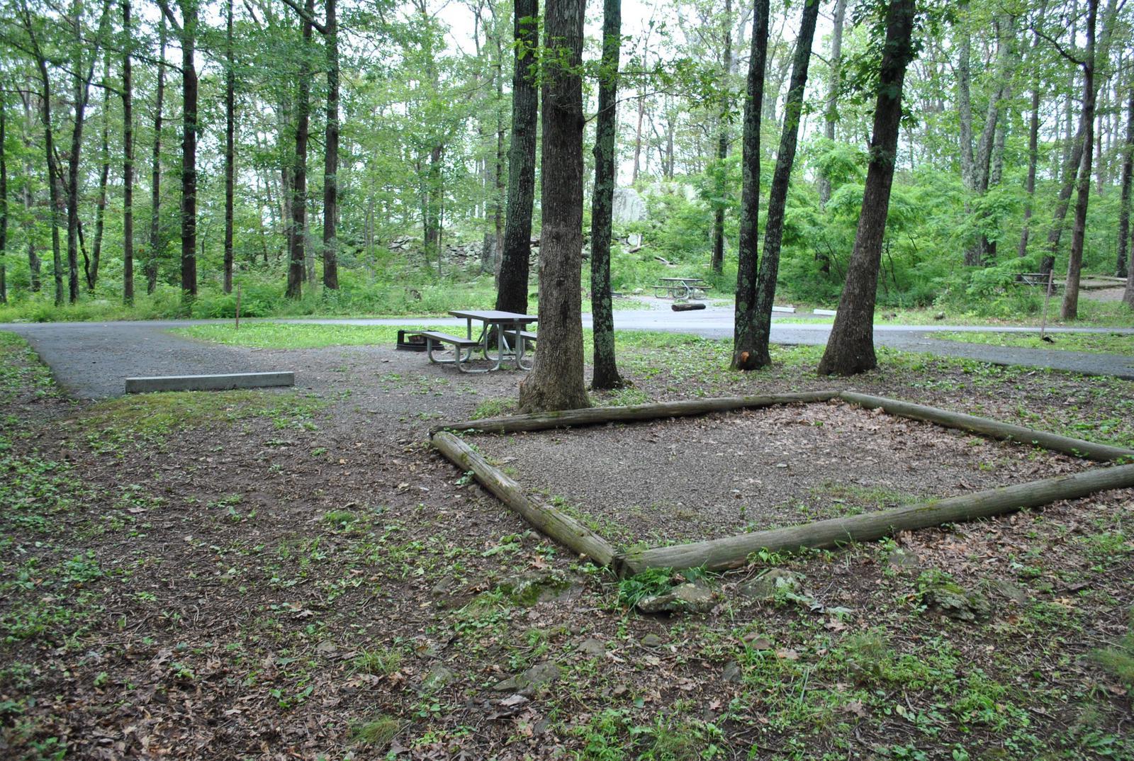 Mathews Arm Campground – Site A069