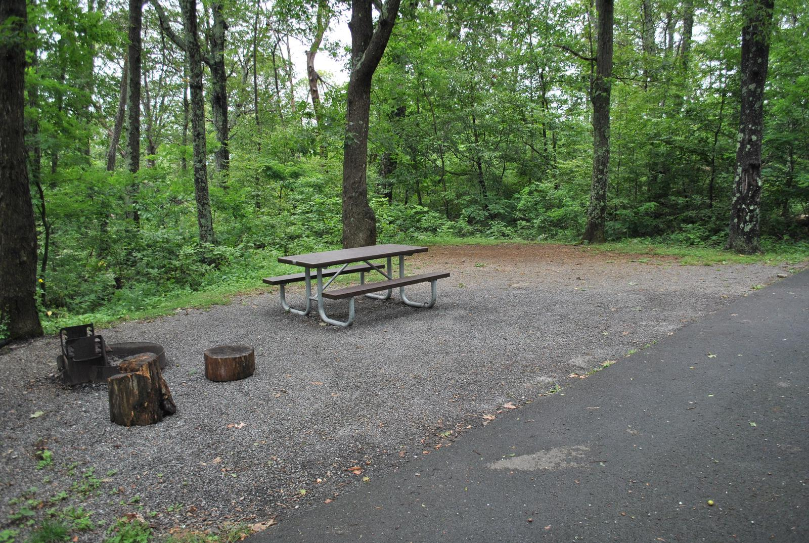 Mathews Arm Campground – Site A072