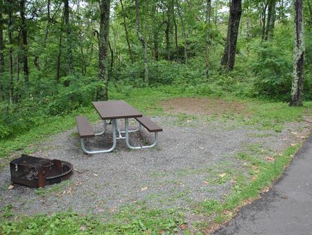 Mathews Arm Campground – Site A074