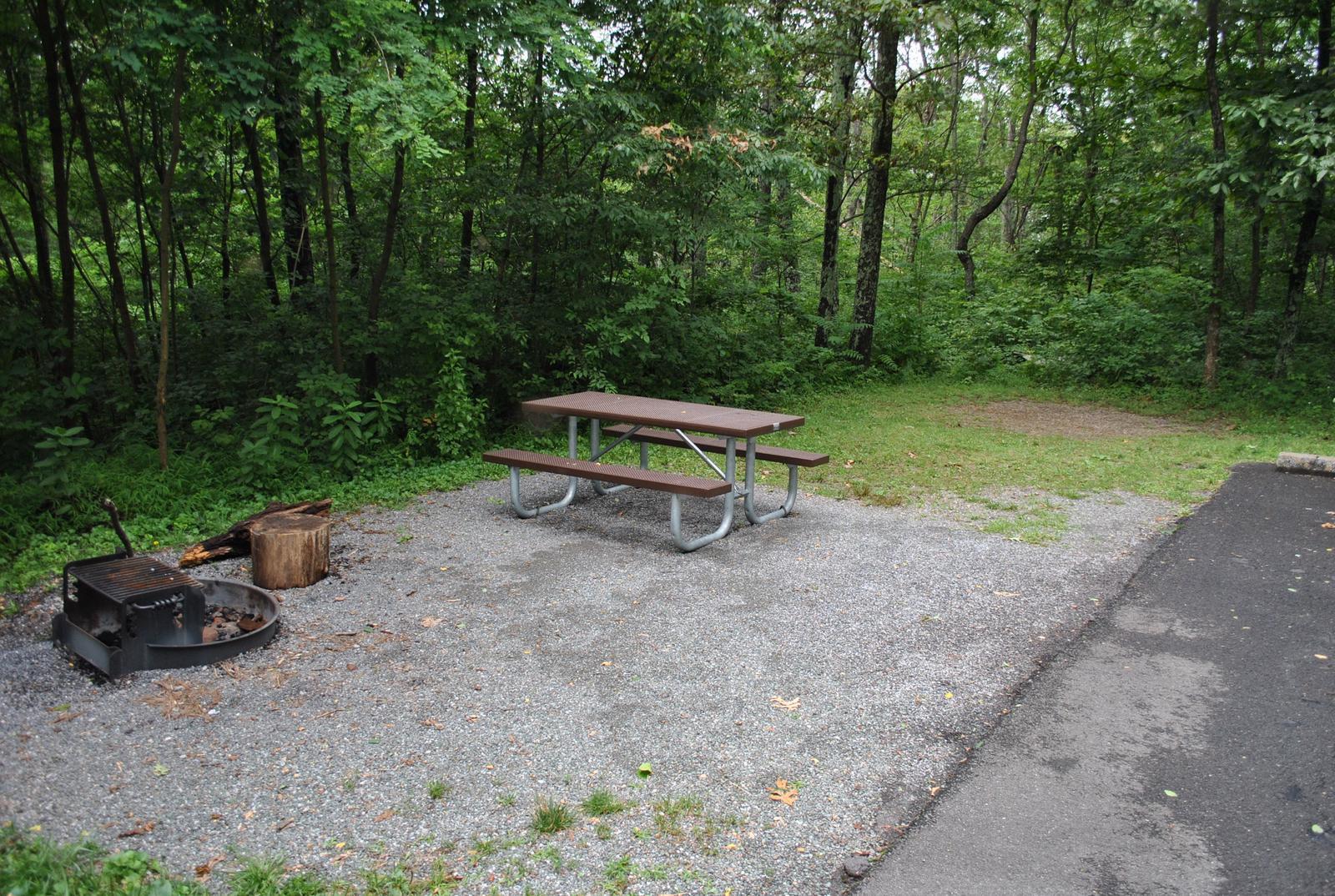 Mathews Arm Campground – Site A076