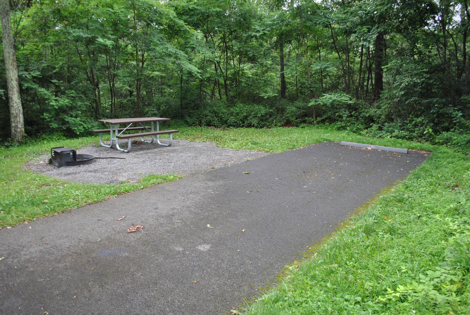 Mathews Arm Campground – Site A078