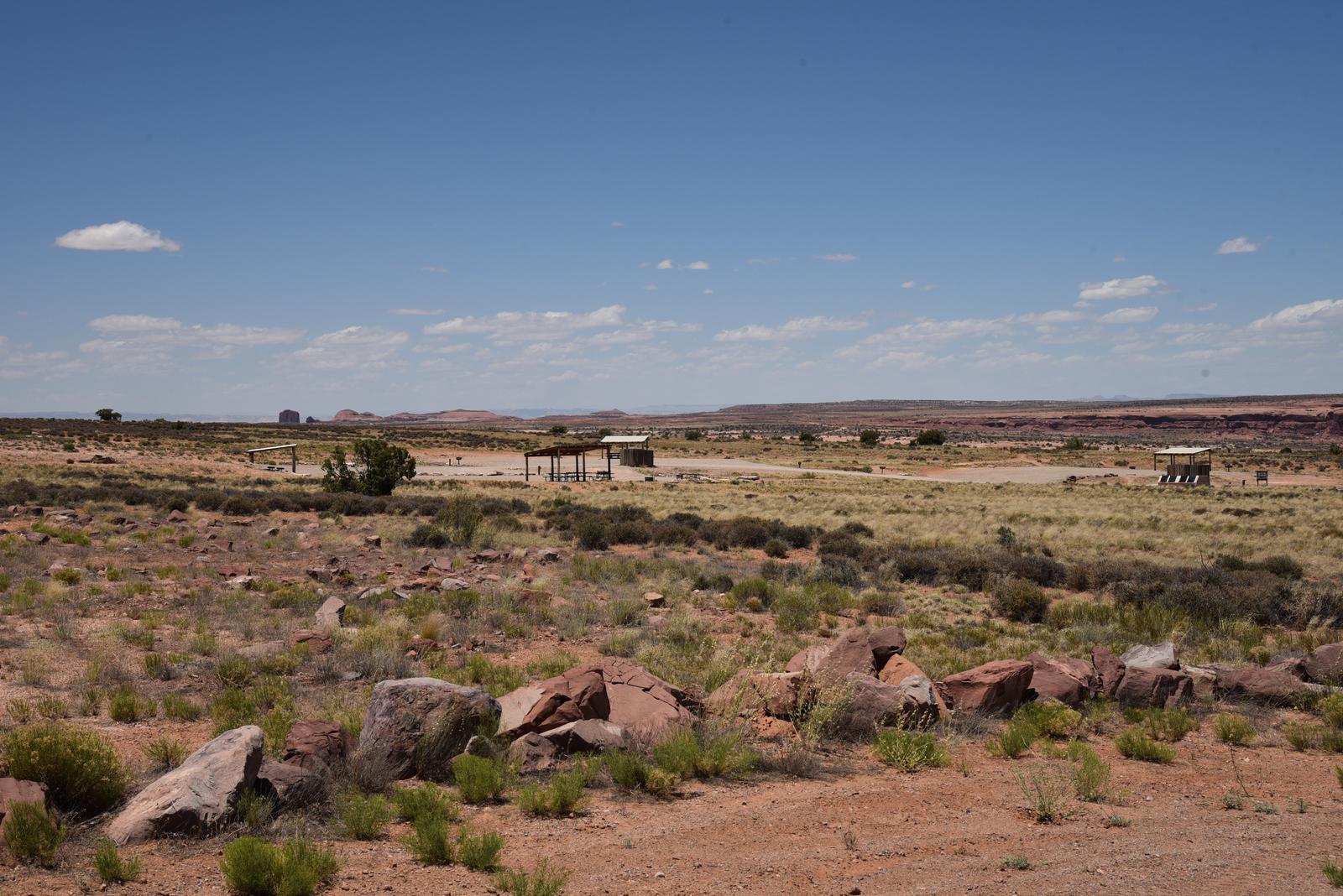 Lone Mesa Group Campsites
