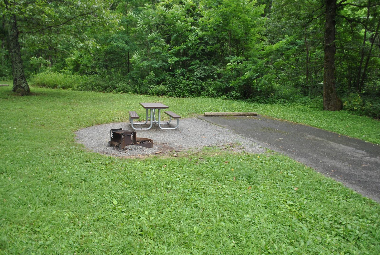 Mathews Arm Campground – Site A086