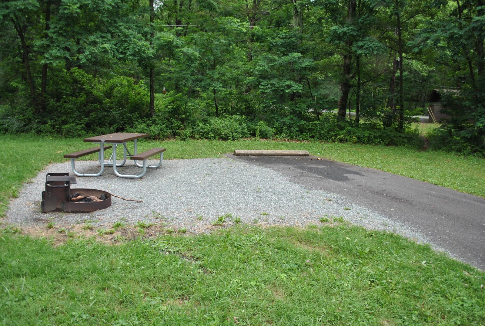 Mathews Arm Campground – Site A089