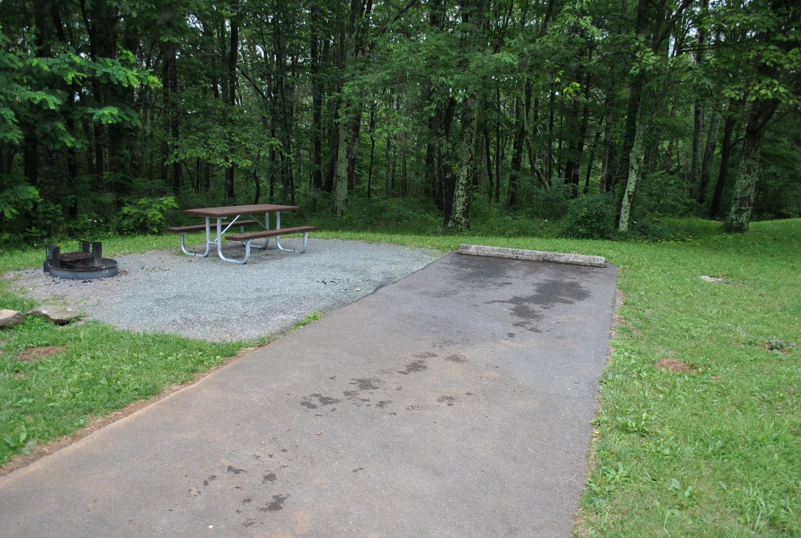 Mathews Arm Campground – Site A094