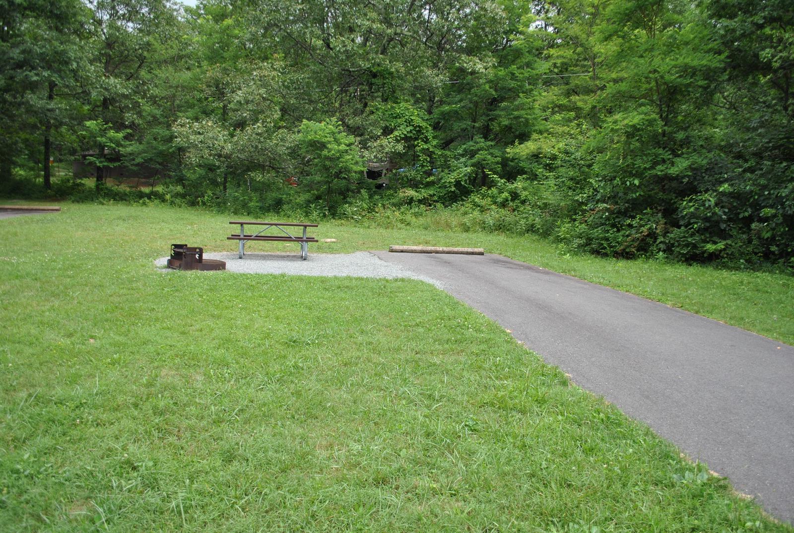 Mathews Arm Campground – Site A097