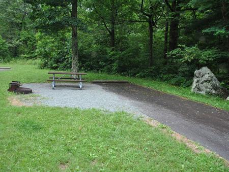 Mathews Arm Campground – Site A099