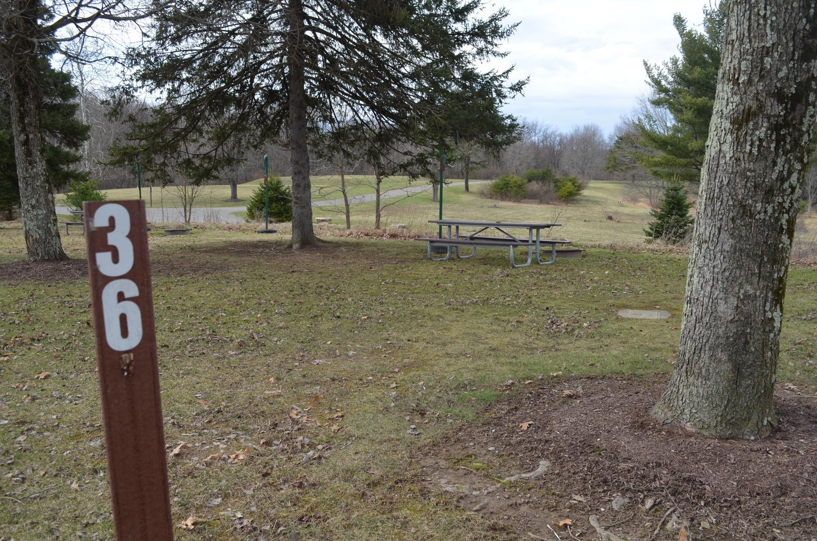 Crooked Creek Lake - Site 36