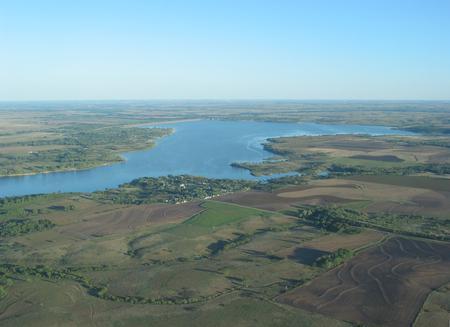 Kanopolis Lake Birds Eye View