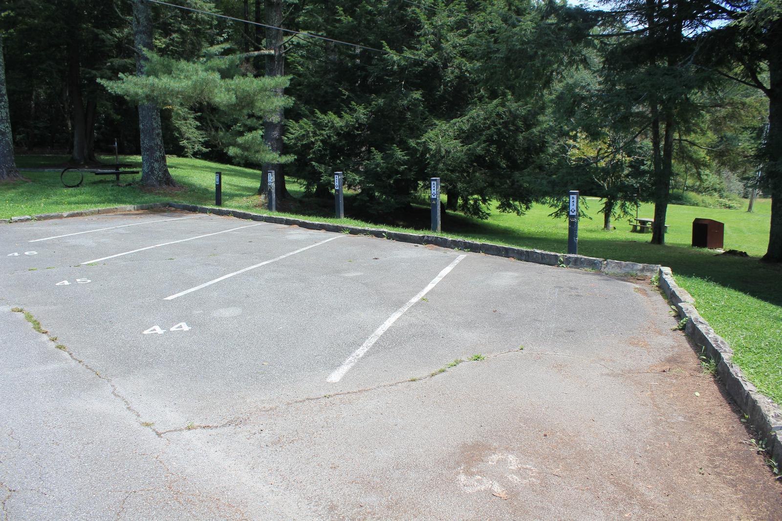 Group Site 1 Parking (B43, B44, & B45)