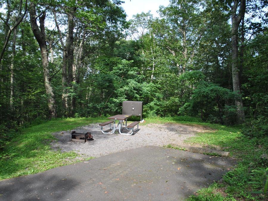 Mathews Arm Campground - Site A057