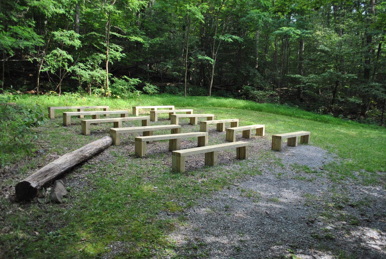 Mathews Arm Campground Amphitheater