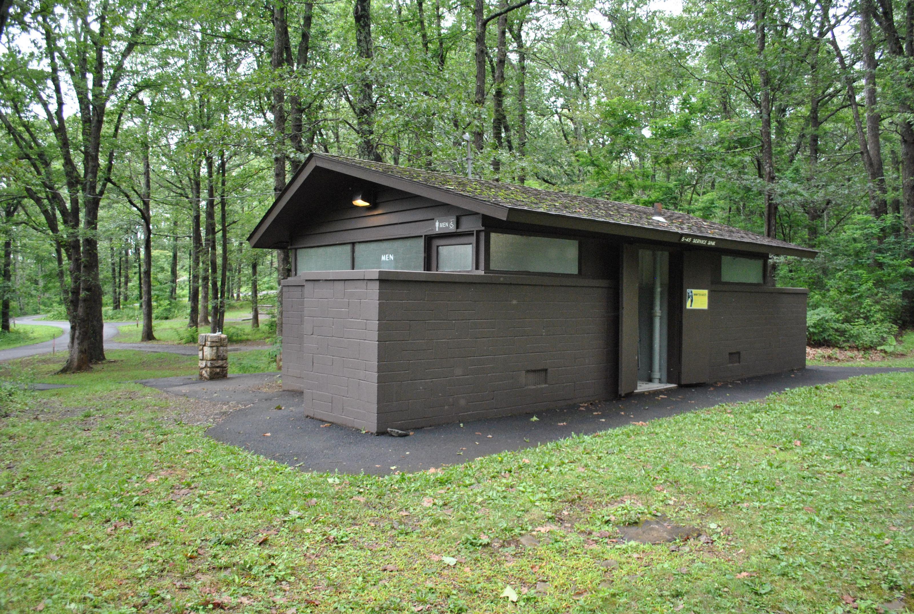 Mathews Arm Campground Bathroom and Utility Sink Facility