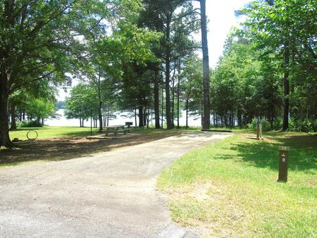 Campsite with Picnic Table and grill.Site 29