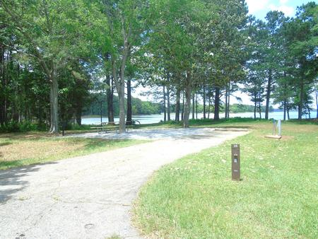 Campsite with Picnic Table.Site 35