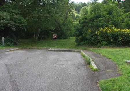 A Loop Site 9  - RV Nonelectric (Handicap Accessible)