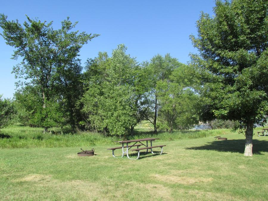 Campsite #28 Wolf Creek Campground
