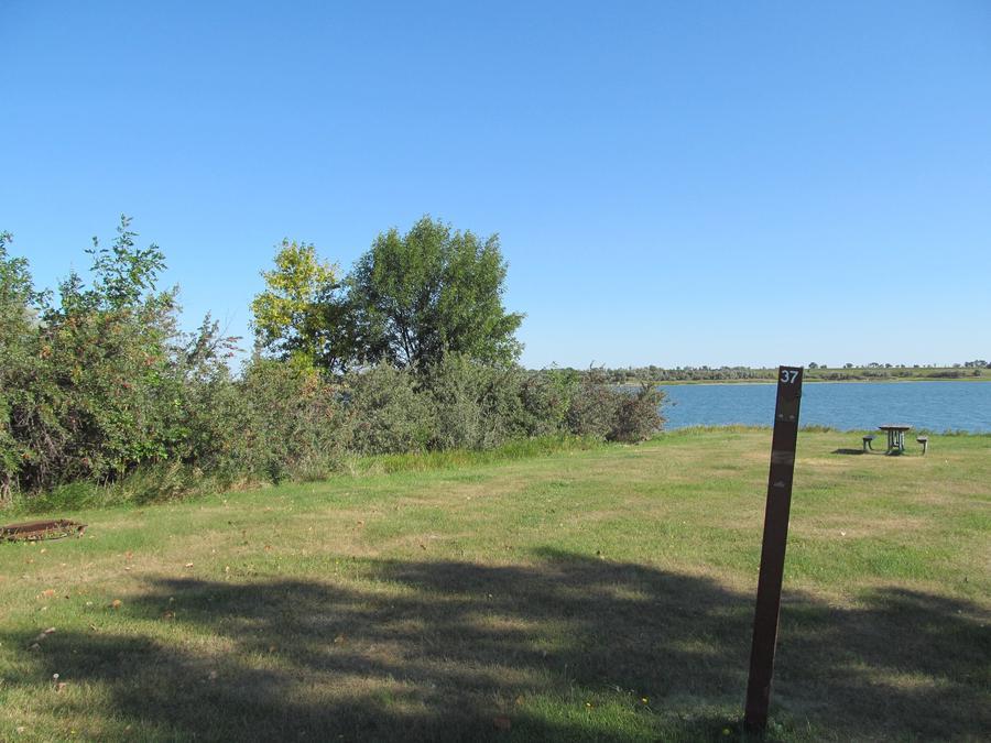 Campsite #37 Wolf Creek Campground