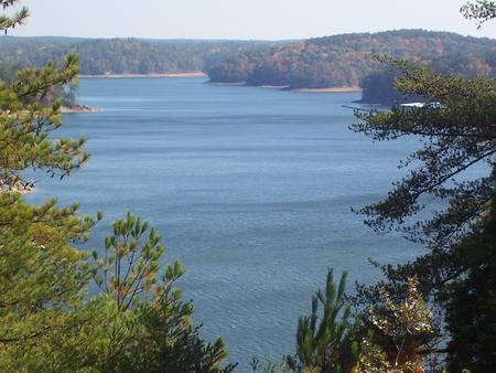 Allatoona Lake from the Visitor Center Overlook