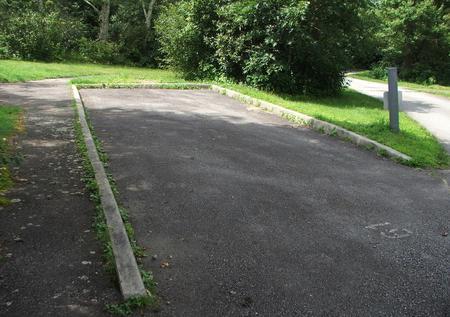 B Loop Site 20  - RV Nonelectric (Handicap Accessible)