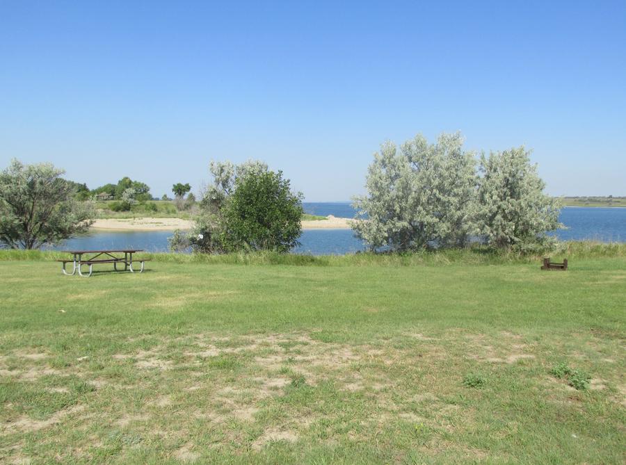 Campsite #44 Wolf Creek Campground
