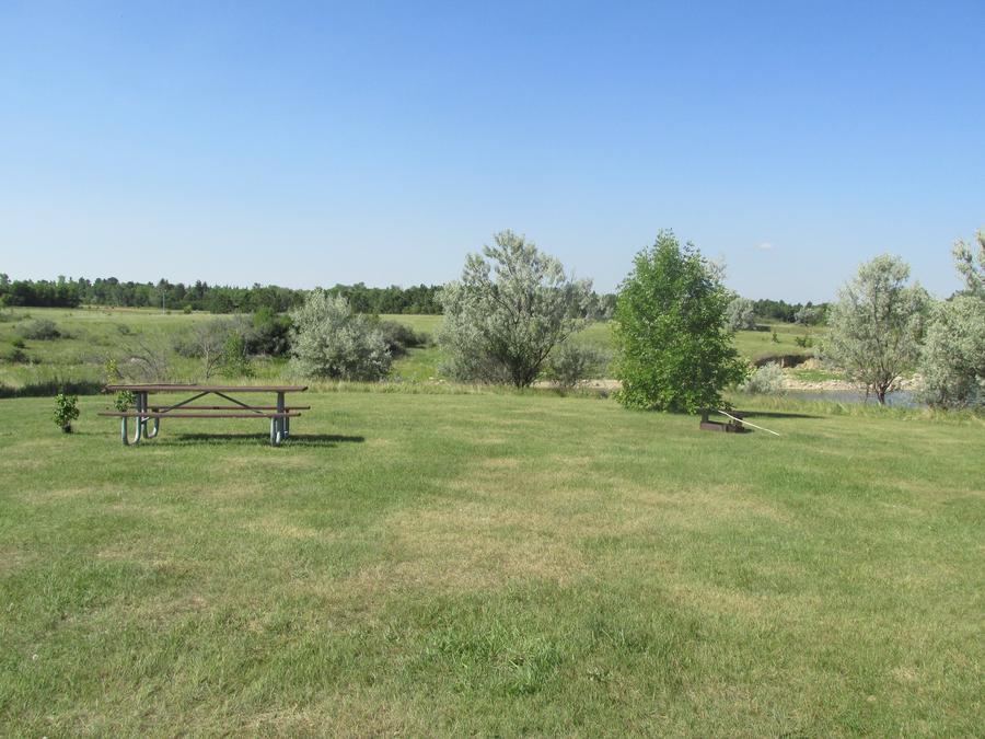 Campsite #47 Wolf Creek Campground