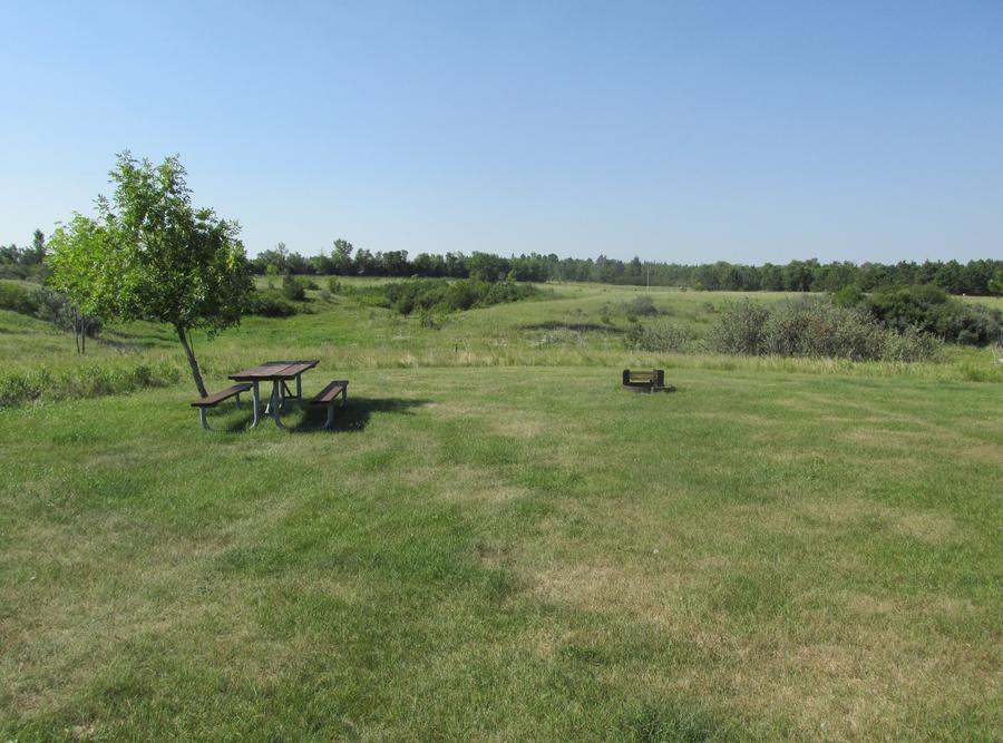Campsite #49 Wolf Creek Campground