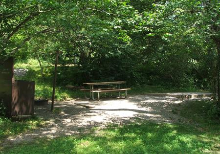 C Loop Site 14 - Tent Nonelectric Picnic Table