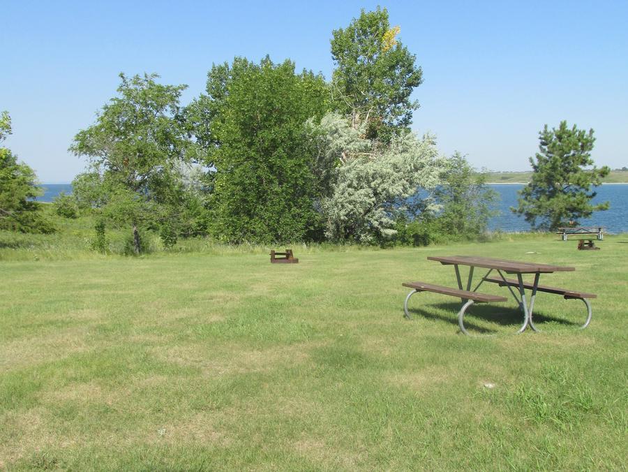 Campsite #58 Wolf Creek Campground