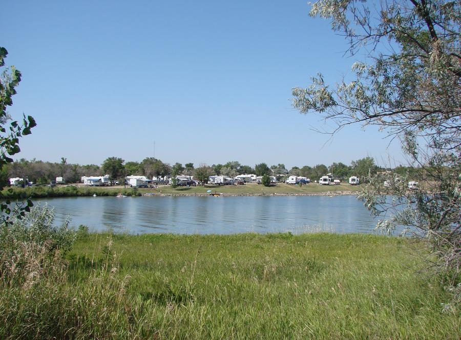 East Totten Trail Campground on Lake Audubon