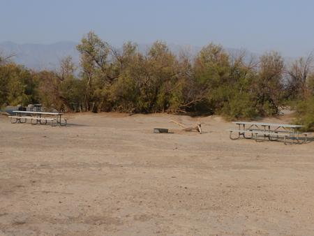 Furnace Creek Campground tent only group site #4.
