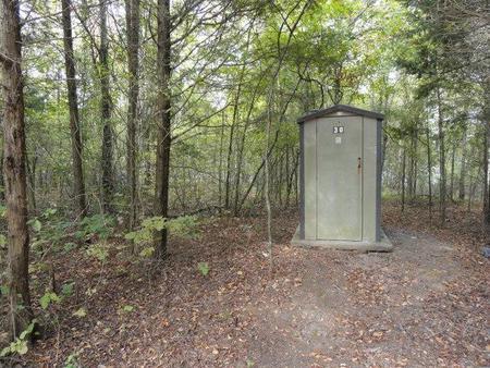 DALE HOLLOW LAKE - PRIMITIVE CAMPING VAULT PIT TOILETVault-Pit Toilet