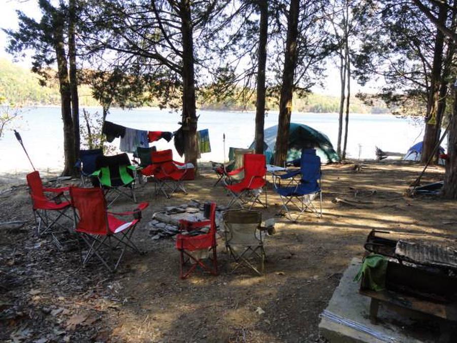 Dale Hollow Lake Primitive Camping