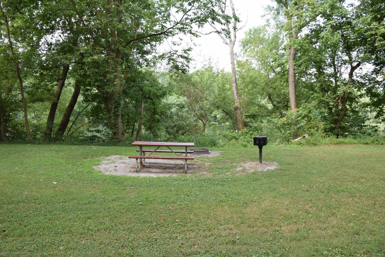 Single Campsite at Antietam Creek Campground