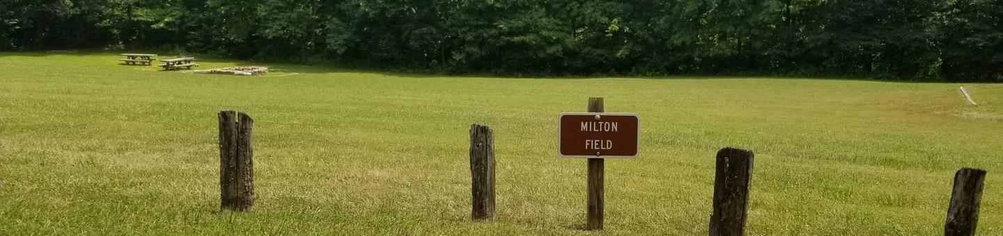 'Milton' Field at Caldwell Fields Group Campground