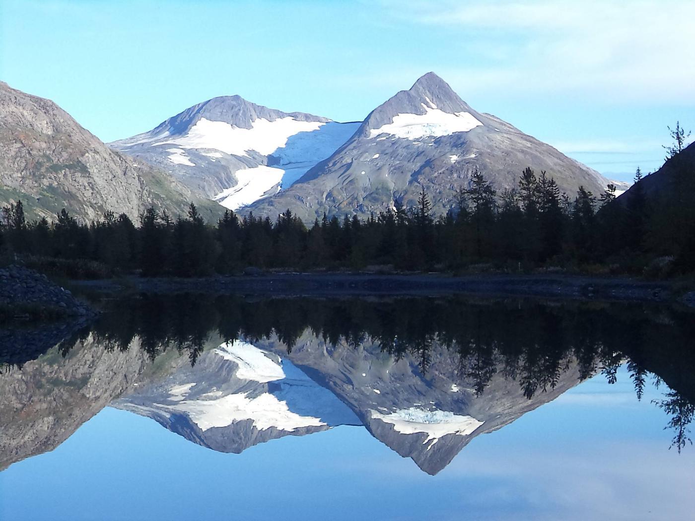 Bard Peak ReflectionChugach National Forest, Alaska