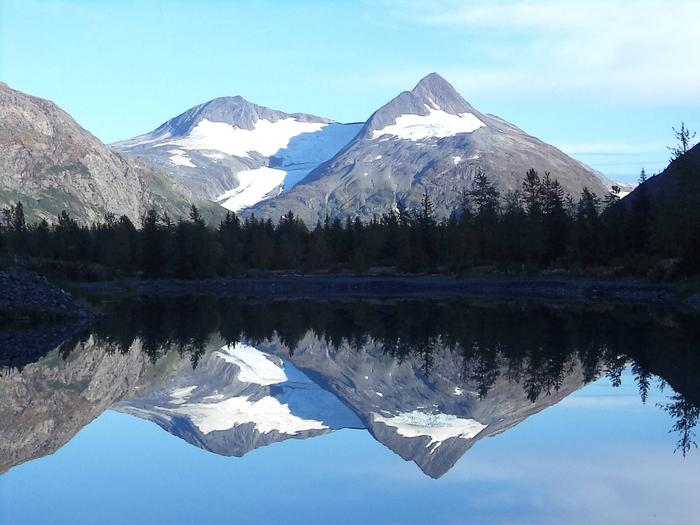 Bard Peak ReflectionChugach National Forest, Alaska