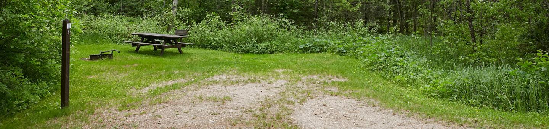 Entrance to Lake Jeanette campsite #1Site 01