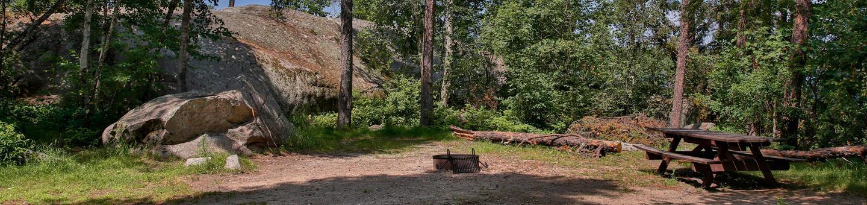 Lake Jeanette campsite #06Campsite #06