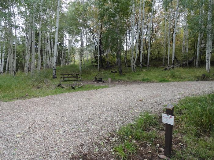 Buckboard CampgroundSite #6