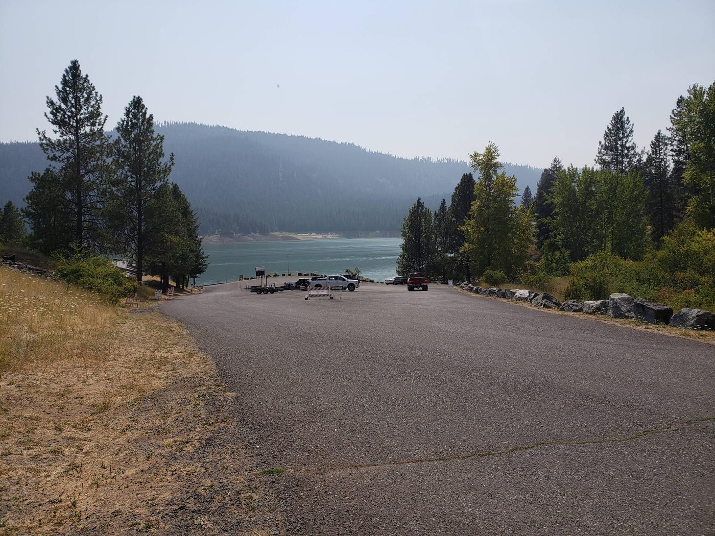 Boat Ramp/ Parking lot