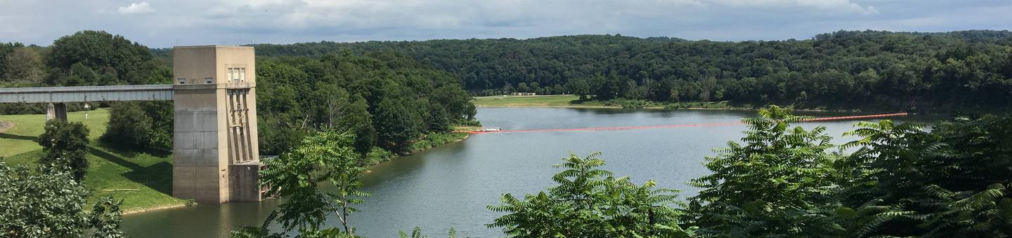 Crooked Creek Lake Dam Overlook