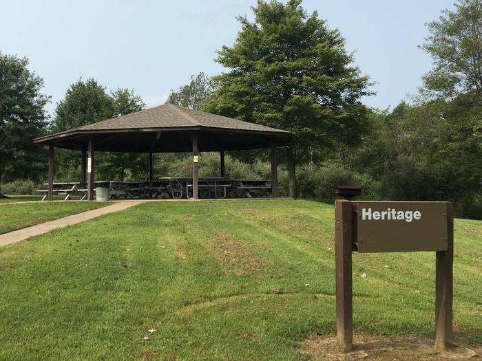 Crooked Creek Lake - Heritage Pavilion