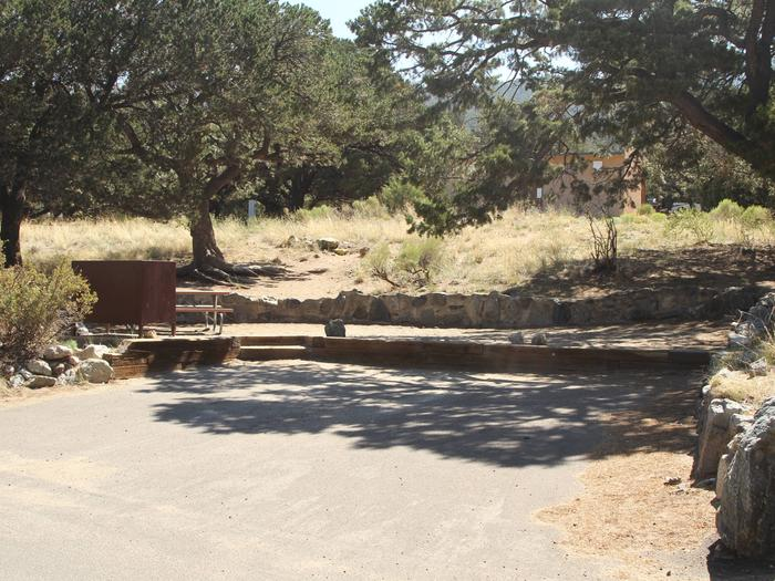 Site #25, Pinon Flats Campground