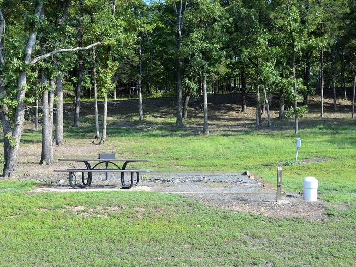 De Queen Lake Bellah Mine Park Campsite # 1Campsite #1