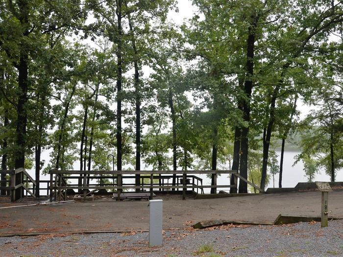 De Queen Lake Bellah Mine Park Campsite # 18Campsite #18