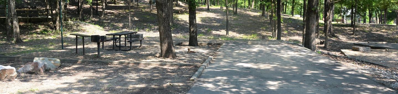 Gillham Lake, Big Coon Creek Campsite # 11Campsite #11